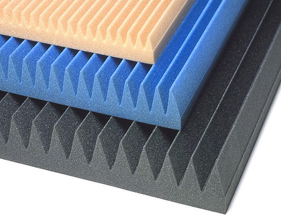 Soundproofing Foam Panels : Cutting wedge classic acoustical foam absorber