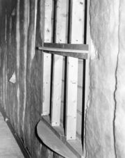 Custom unit built into the wall by the author in 1971.